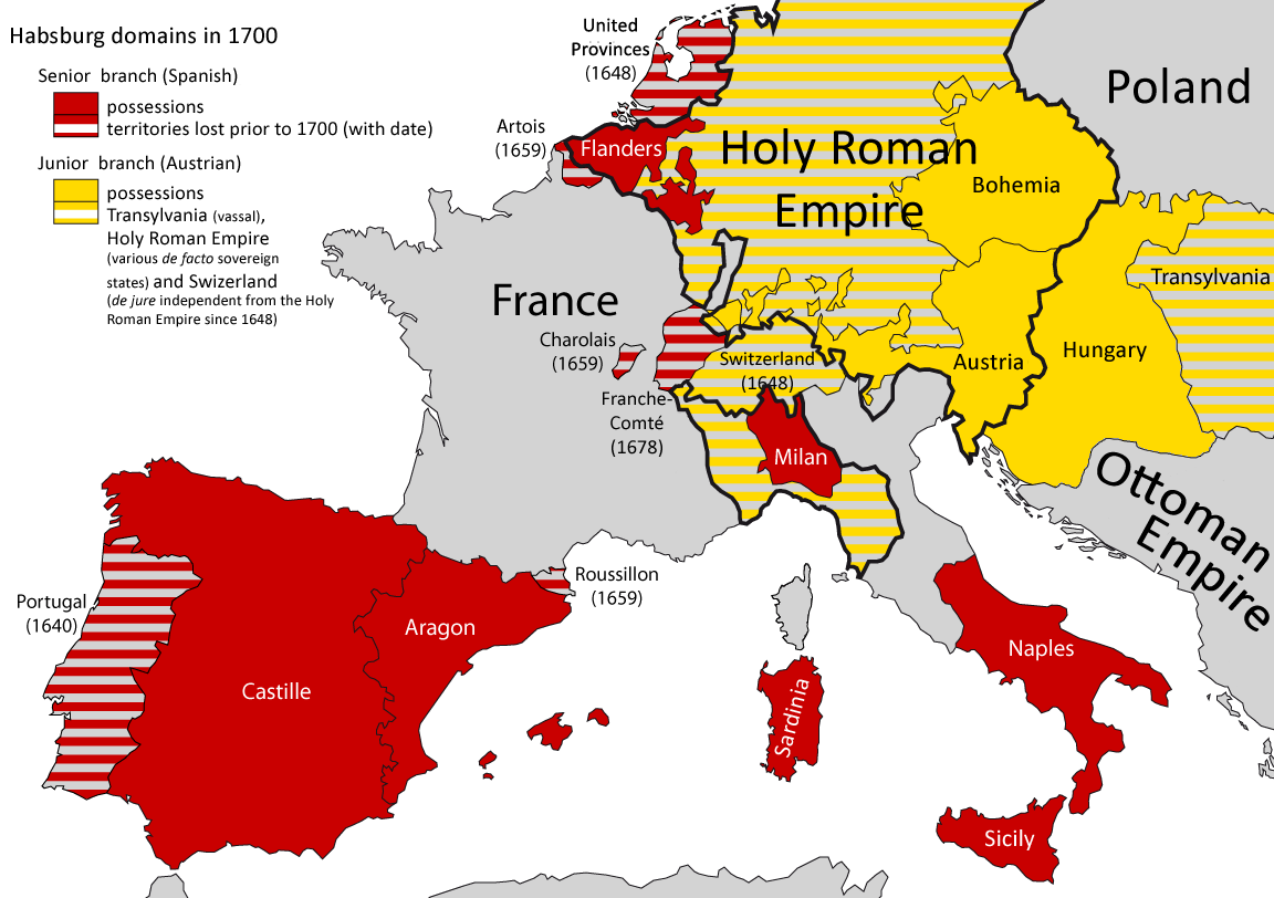 what did the habsburg empire do
